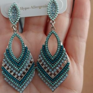 Charming Charlie turquoise earrings